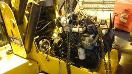 remont podzespołów maszyny budowlanej