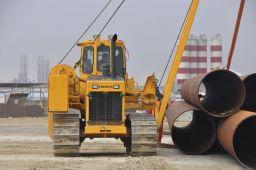 Układarka rur SB-30 maszyna budowlana